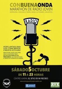 Octubre 2013 – Agenda de Actividades – Marathón de Radio Joven