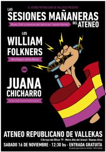 Cartel Sesiones Mañaneras del Ateneo