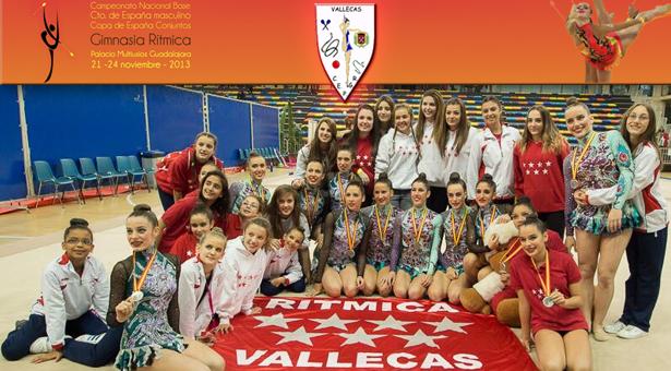 C.E.P.G. Rítmica Vallecas deja el listón bien alto en el Campeonato Nacional Base y la Copa de España de conjuntos