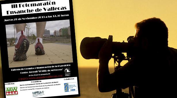 Exposición y entrega de premios del III Fotomaratón del Ensanche de Vallecas