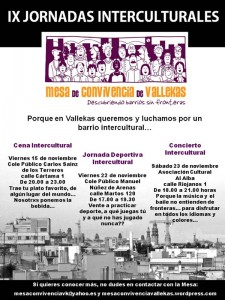 IX Jornadas Interculturales de Vallecas