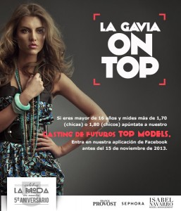 Cartel del Concurso La Gavia ON TOP