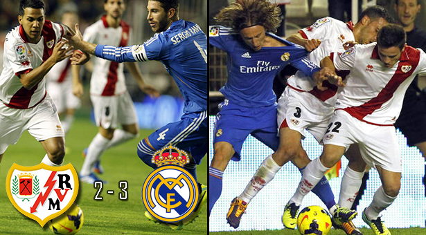 Rayo 2 - R.Madrid 3