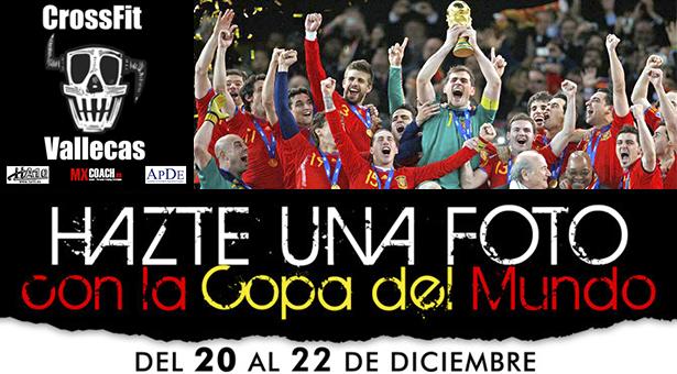 La Copa del Mundo de Fútbol en el gimnasio MXCoach en Vallecas