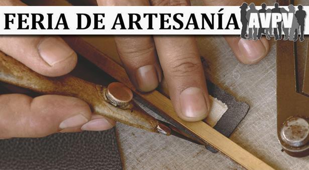 Feria de Artesania en la A.A.V.V. Puente de Vallecas