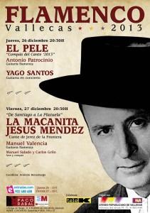 """Cartel de """"Flamenco Vallecas 2013"""""""