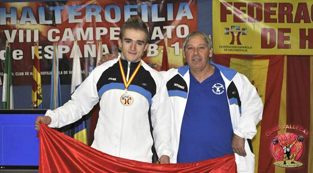 El atleta José González Santos alcanza el 2º puesto en el VIII Campeonato de España Sub-17 de Halterofilia