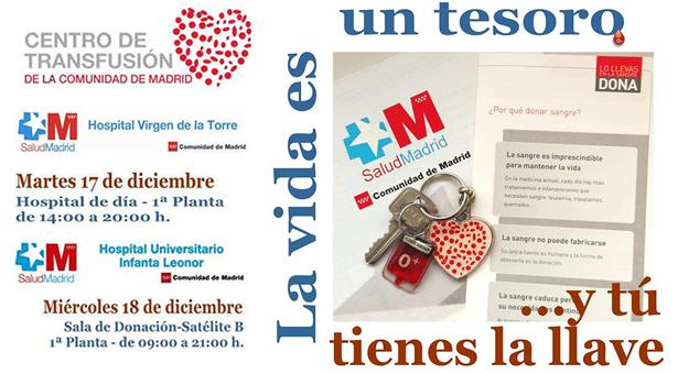 IX Maratón de donación de sangre en Vallecas