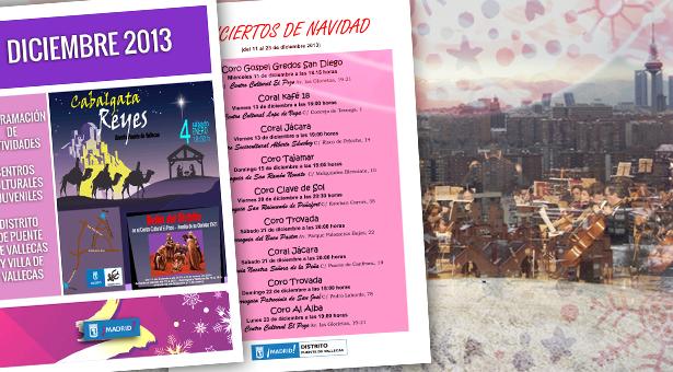 Diciembre 2013 – Agenda de Actividades – Danza, Rapsody, Flamenco, Belenes, Conciertos y San Silvestre