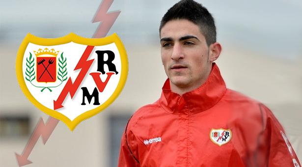 Borja López nuevo jugador del Rayo