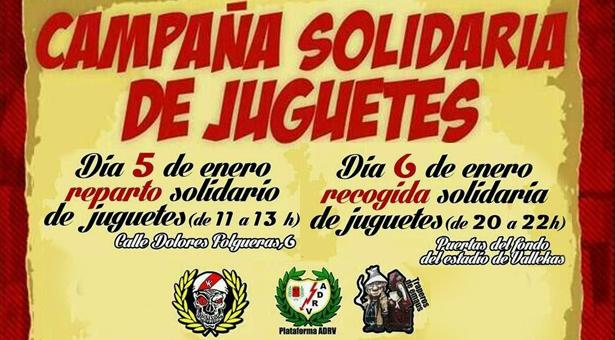 Campaña Solidaria de Juguetes - 5 y 6 Enero