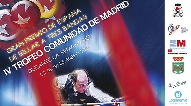 Gran premio de España de Billar a Tres Bandas en Vallecas