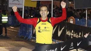 Juan Antonio entrando en meta
