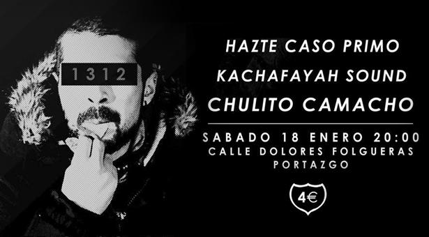 Hip-Hop, Rap y Reggae en Vallecas - Sáb 18 de Enero 20:00
