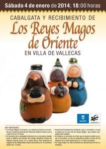 Cartel de la Cabalgata de Villa de Vallecas
