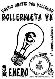 Cartel de la IV RollerKleta