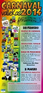 Carnaval 2014 - Puente de Vallecas