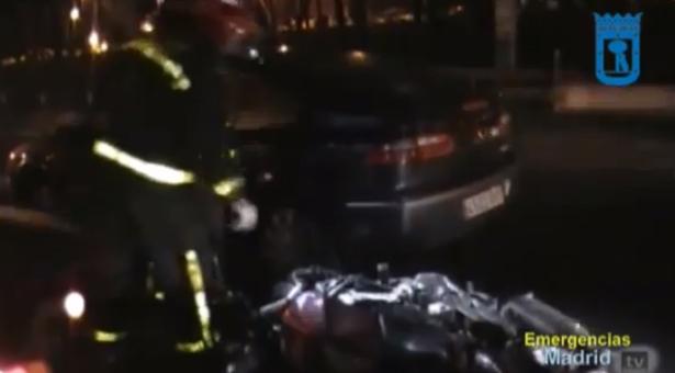 Accidente de tráfico en el Km 9 de la A-3 con una víctima mortal