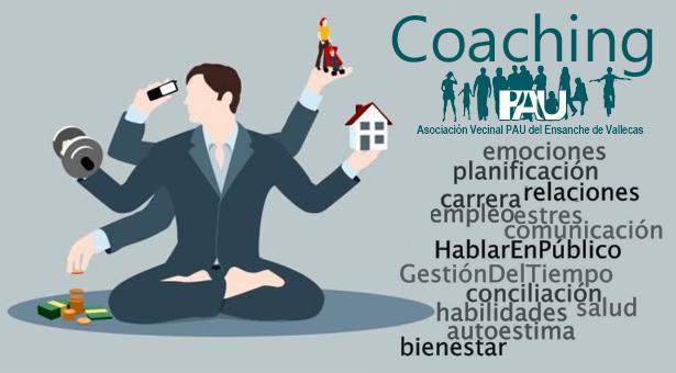 Coaching en la A.A.V.V. Pau del Ensanche de Vallecas