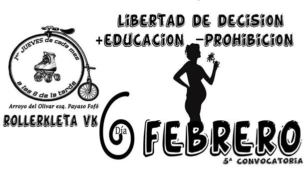 6 de Febrero - 5ª Rollerkleta Vallekana - Libertad de decisión