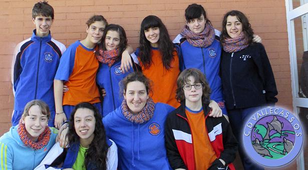Vallecas S.O.S. en el XXVIII Campeonato de España de Salvamento y Socorrismo