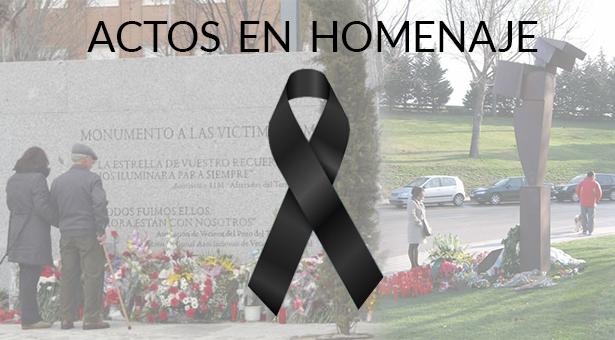 Actos en homenaje a las víctimas del 11-M