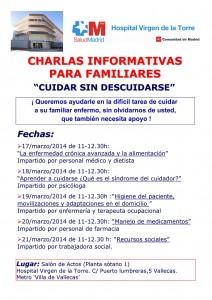 """Calendario de """"Cuidar sin descuidarse"""" Marzo 2014"""