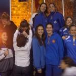 Oro 4x50 obstáculos absoluto femenino