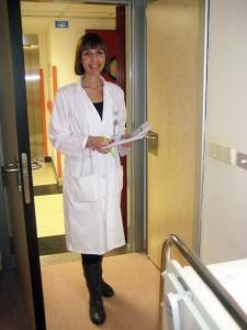Verónica Chazín Tirado, nutricionista de hospital Virgen de la Torre