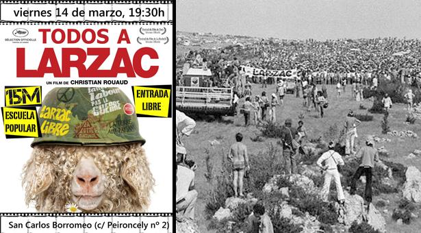 Docufórum en San Carlos Borromeo - Todos a Larzac