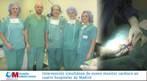 Cuatro hospitales de la Comunidad, entre los primeros de España en inyectar un novedoso monitor cardiaco