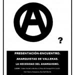 Presentacion de la organización Anarquistas Vallekas