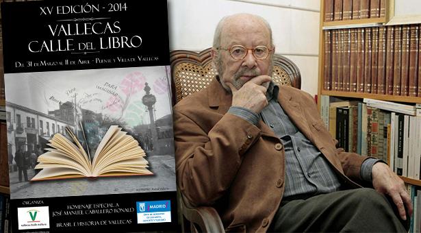 XV Edición de Vallecas Calle del Libro: José Manuel Caballero Bonald y I Certamen de microcuentos