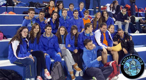Vallecas S.O.S. logra un palmarés de 12 medallas en los XXVIII Campeonatos de España de Salvamento y Socorrismo