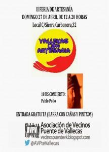 II Feria de Artesania A.A.V.V. Puente de Vallecas