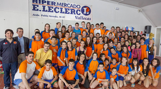 Gran participación y acogida en el I Trofeo E.Leclerc - Vallecas SOS
