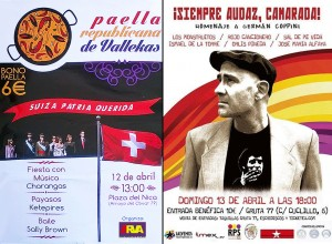 Paella Republicana 2014 y Homenaje Germán Coppini