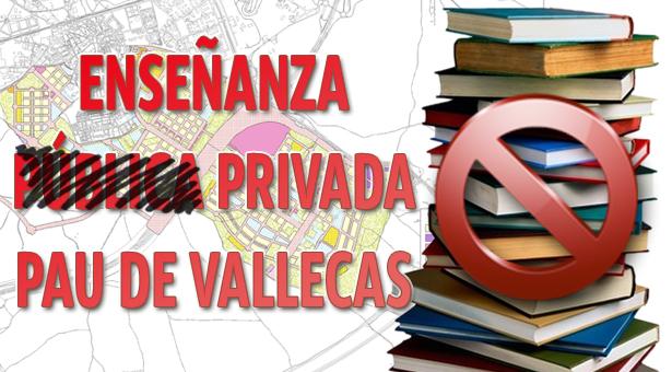 Jornada reivindicativa para construcción de un colegio y un instituto Públicos en el Ensanche de Vallecas