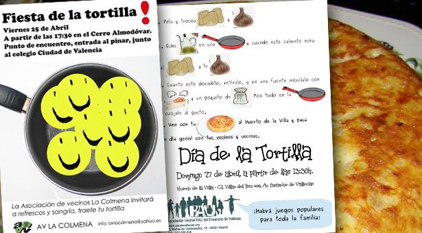 San Marcos y Fiesta de la Tortilla en Vallecas