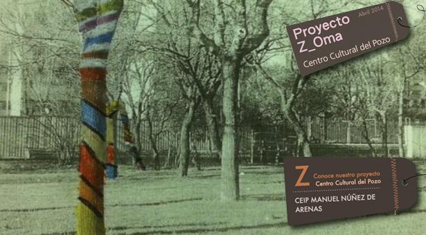 Proyecto Z_Oma - Recuperación de jardines del CEIP Manuel Nuñez de Arenas de Vallecas