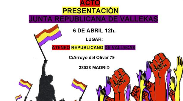 Presentación de la Junta Republicana de Vallekas