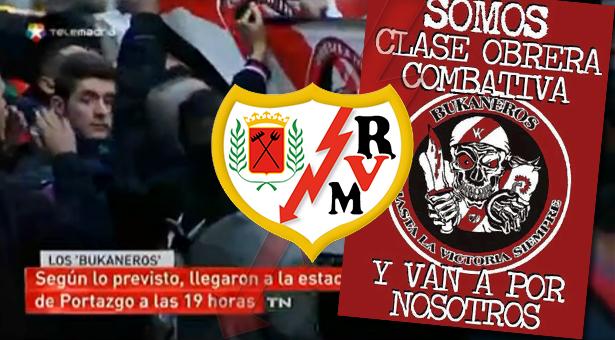 El Rayo Vallecano y sus aficionados califican de