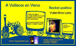 """Tercer recital """"A Vallecas en Verso"""""""