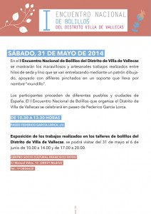 I Encuentro Nacional de Bolillos