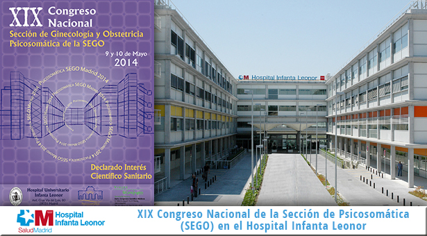 XIX Congreso Nacional de la Sección de Psicosomática (SEGO) en el Hospital Infanta Leonor
