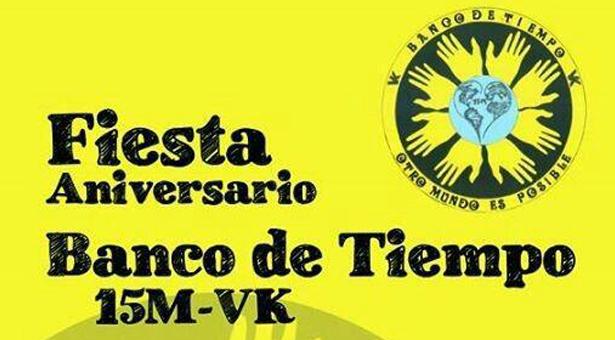 Primer aniversario del Banco de Tiempo de Puente de Vallecas