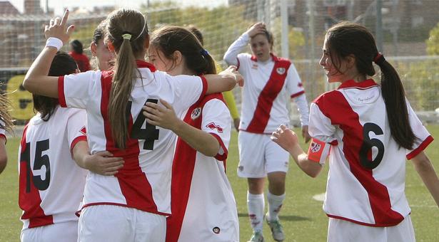 El Rayo Vallecano Femenino B se proclamó campeón de Liga del grupo V de la Segunda División