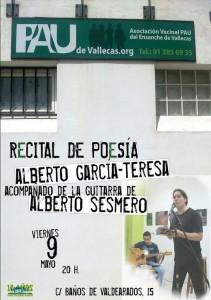 Cartel del Recital de Poesía