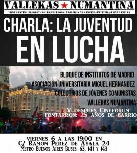 CartelLajuventudenlucha06-06-2014