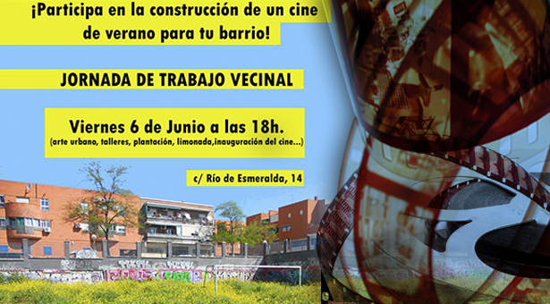 Propuesta vecinal de construcción de un Cine de verano en Vallecas